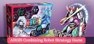 AEGIS Combining Robot Strategy Game