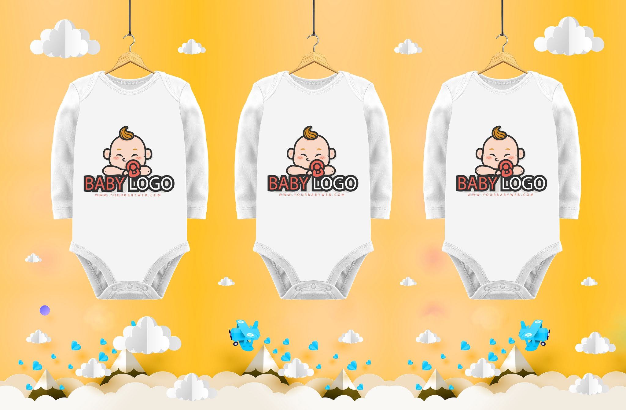 Bag designs psd for printing on children's clothes and T-shirts of the highest quality