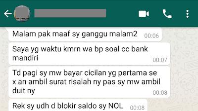 Blokir sepihak Bank Mandiri (33)