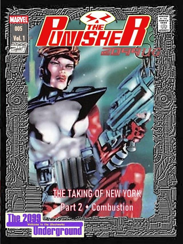 Punisher 2099UG Issue 5