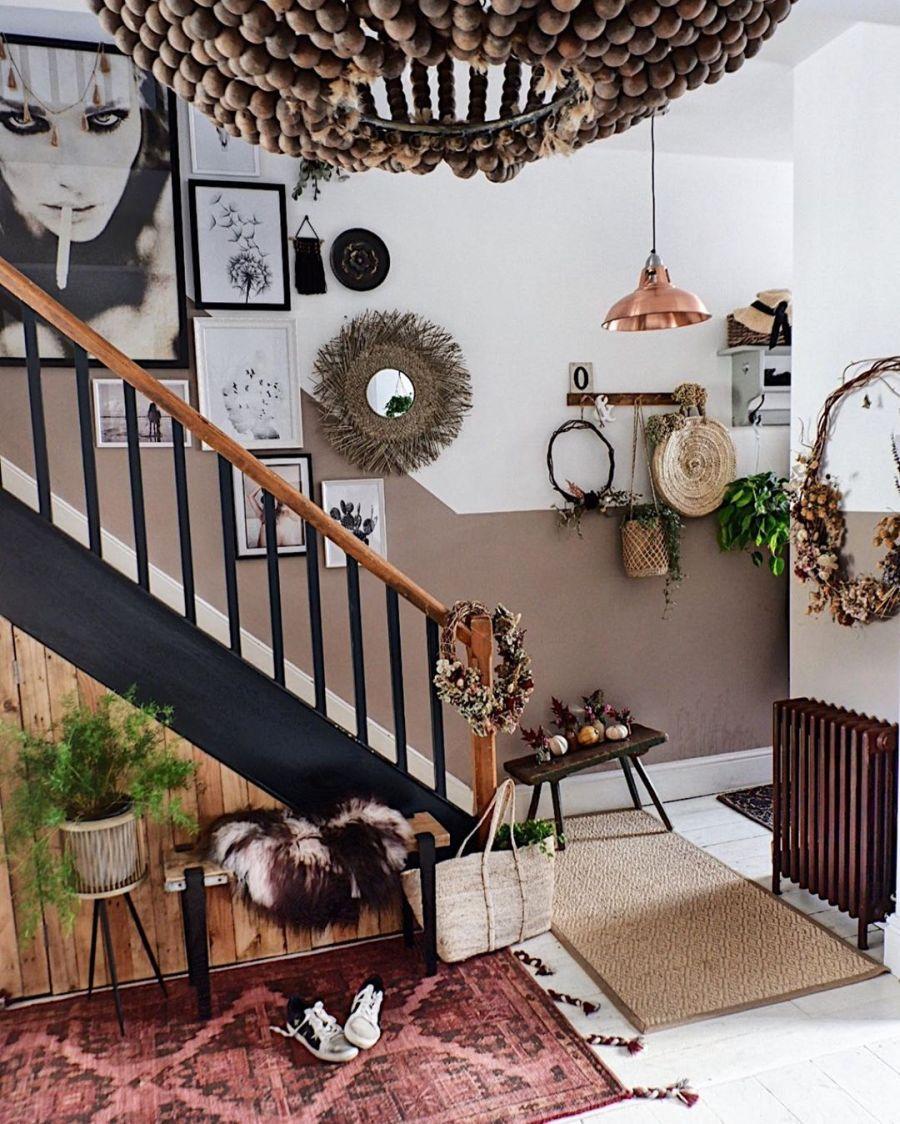 wystrój wnętrz, wnętrza, urządzanie domu, dekoracje wnętrz, aranżacja wnętrz, inspiracje wnętrz,interior design , dom i wnętrze, aranżacja mieszkania, modne wnętrza, boho, boho style, styl skandynawski, scandinavian style, styl eklektyczny, przedpokój, holl