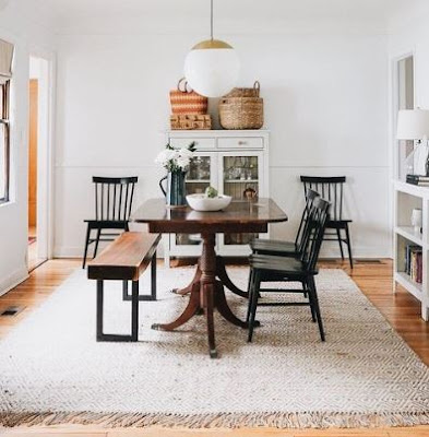 Simple Ways to Choose Rugs for a More Luxurious Dining Room