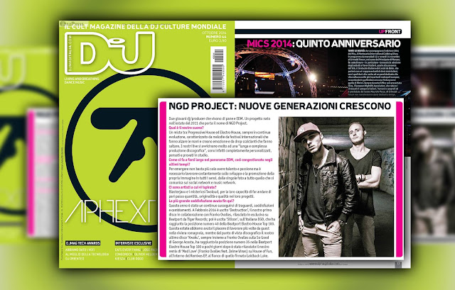 NGD Project Dj Mag Michael Gadani Alberto Tavanti Top Dj Interview Kiesha