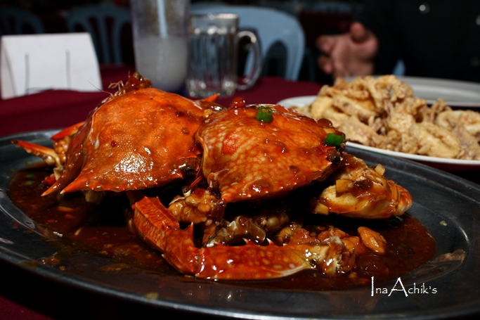 Spicy Crab Menu