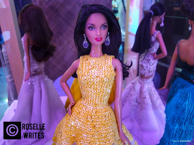 Filipina Beauty with Barbie exhibit