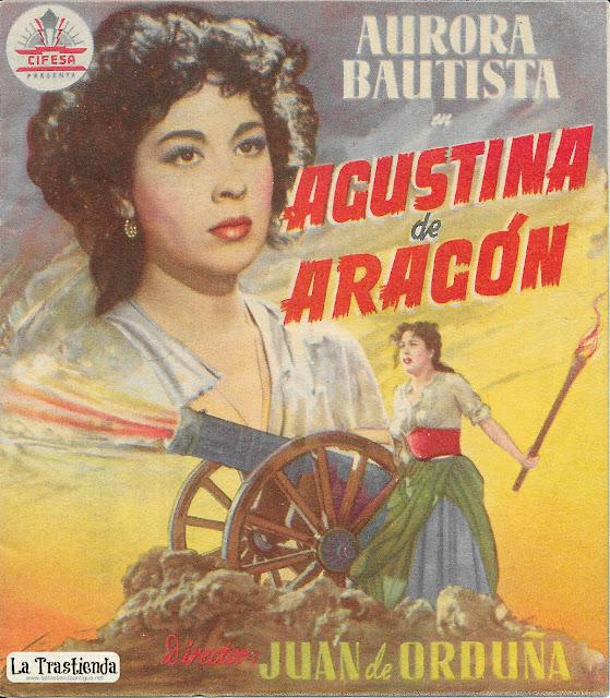 Agustina de Aragón - Programa de Cine - Aurora Bautista - Fernando Rey