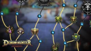 Download Demon Hunter: Dungeon Mod APK Free shopping Unlimited Money/ Diamonds & Unlock All Hero Game lậu free full
