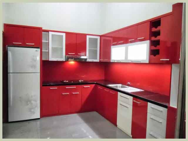 bahan kitchen set murah