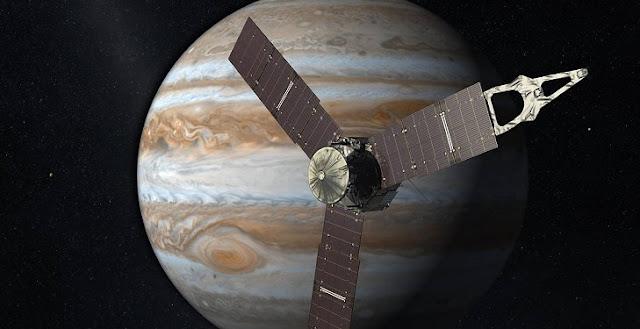 Artist's impression of NASA's Juno mission. Credit: NASA