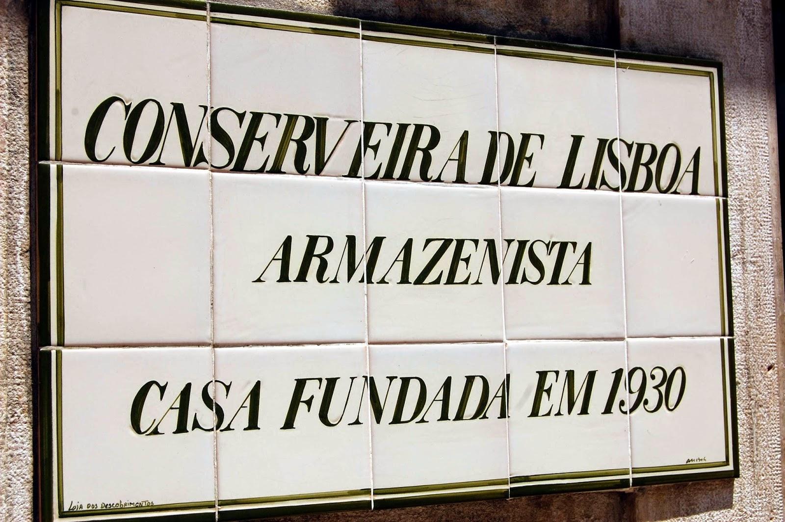 Stitch & Bear - Eat Drink Walk Petiscos Lisbon - Conserveira de Lisboa