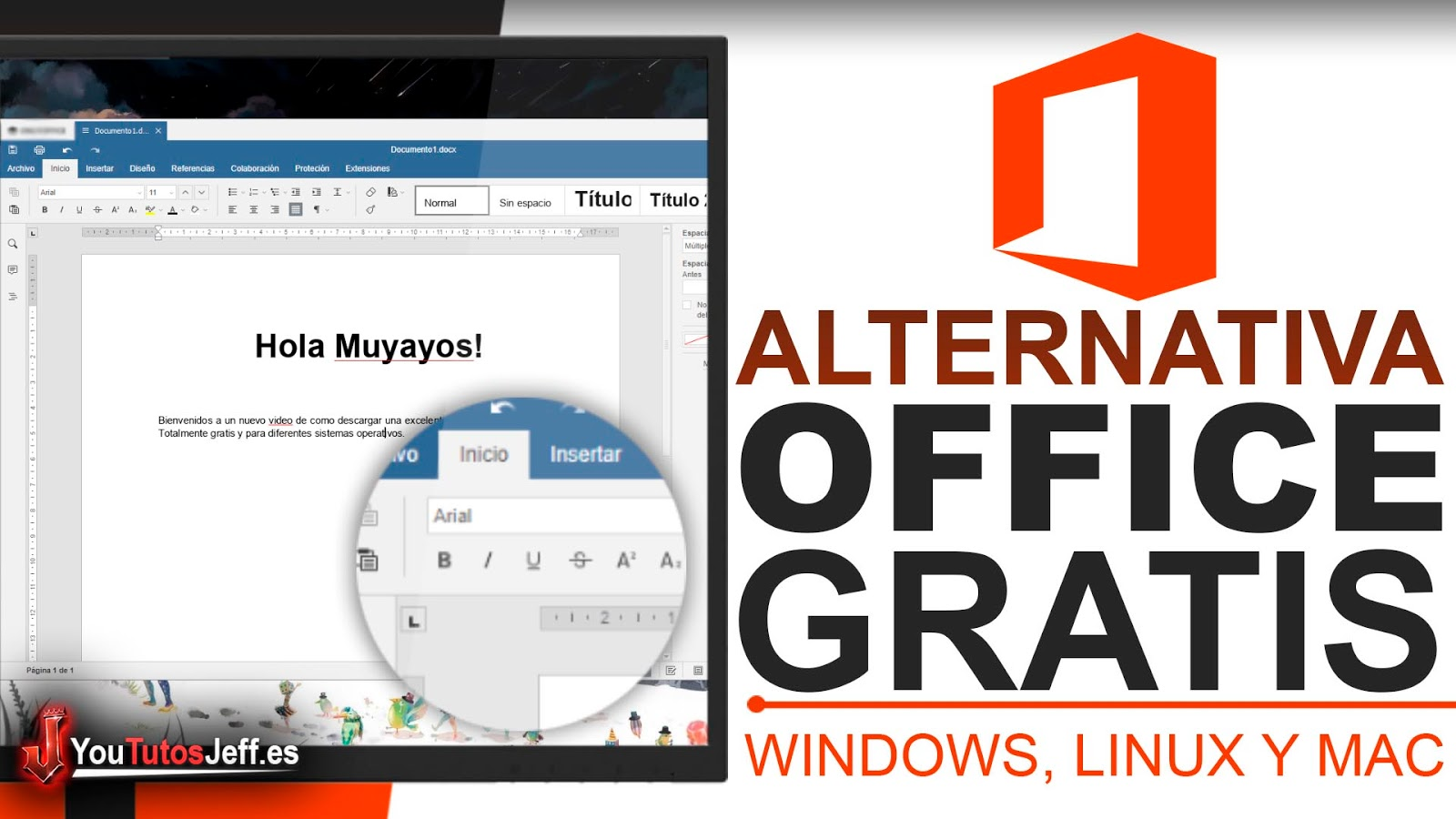 Alternativa Microsoft Office Gratis, Descargar OnlyOffice Ultima Versión