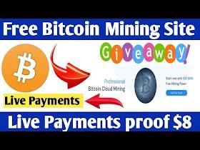 OMG Free Bitcoin Earn Bitcoin Free Cloud Mining Site 2020 ! Live Peyments Proof 0.00089 BTC slickbit