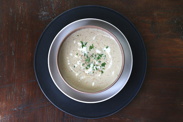 Cream of Asparagus Soup (Spargelsuppe)