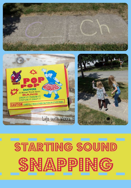 Fireworks Make an Active Way to Practice Beginning Word Sounds