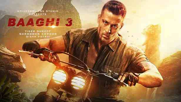 Baaghi 3 movie download ( leaked) TamilRoker