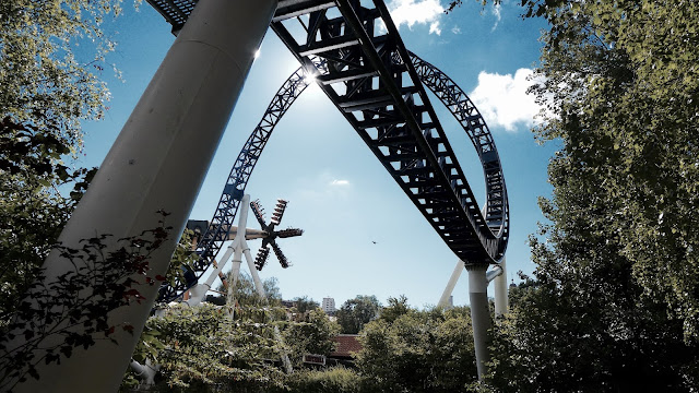 Photo of Kanonen Roller Coaster Top Hat at Liseberg