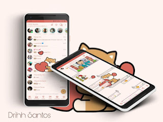 Cat Love Theme For YOWhatsApp & Fouad WhatsApp By Driih Santos