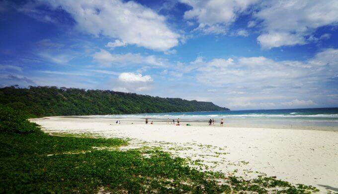 Best beach in asia - Radhanagar Beach