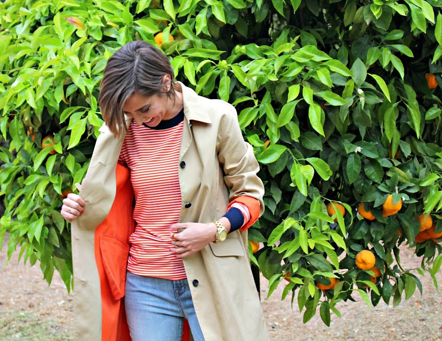 Fitness And Chicness-Orange Stripes-1