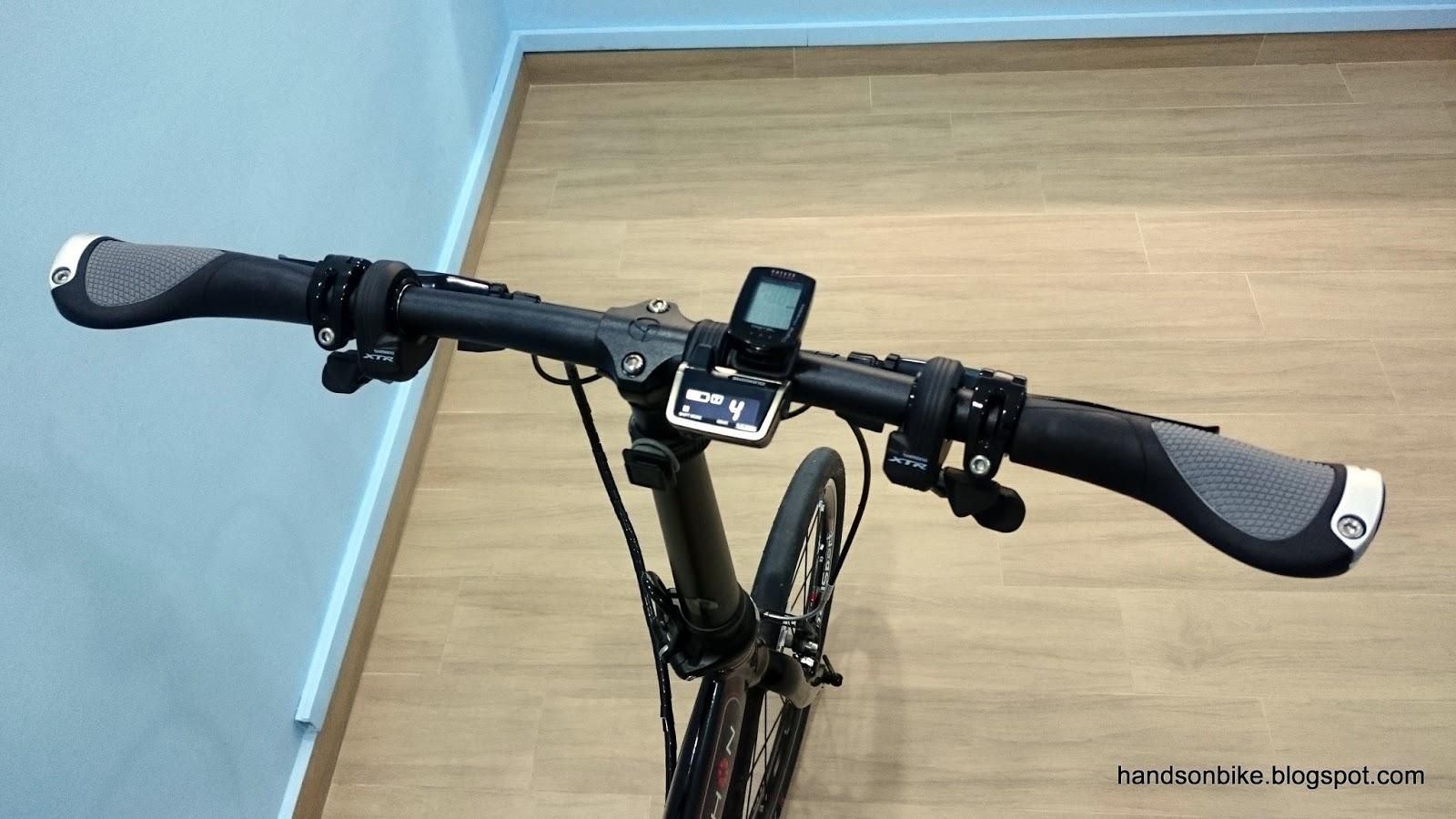 Ergon GP1 Rohloff Mountain Bicycle Bike Handlebar Grips Small