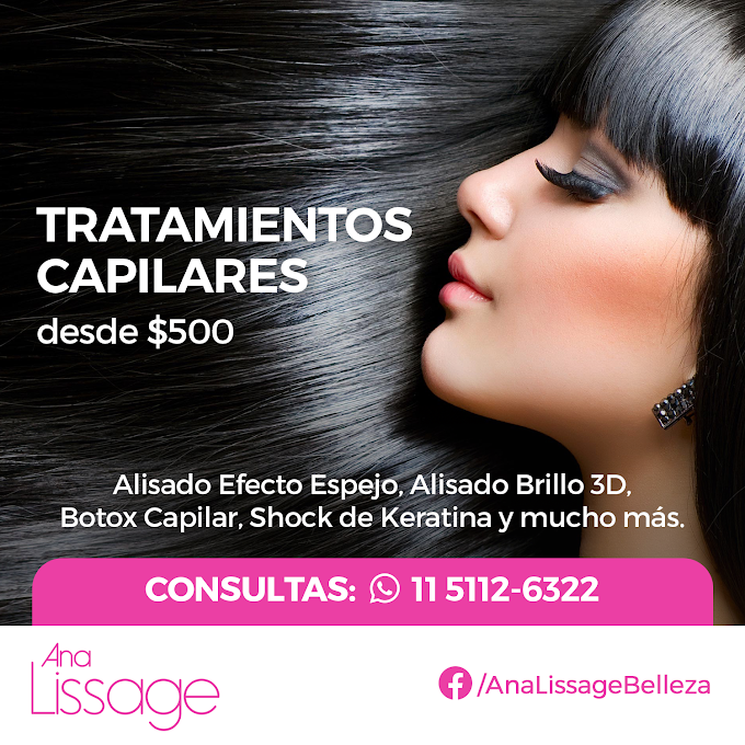 Flyer para Ana Lissage