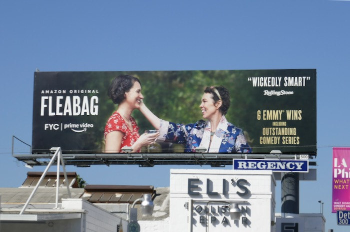 Fleabag season 2 FYC Olivia Colman billboard