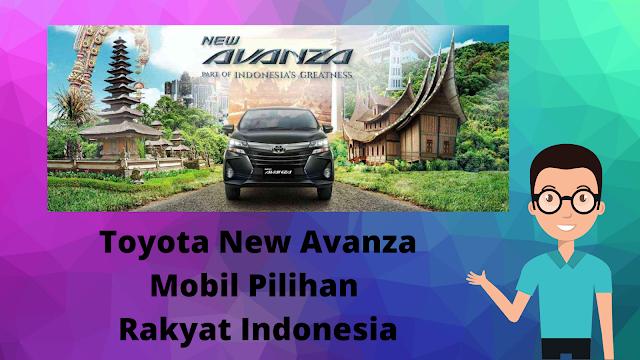 toyota new avanza mobil pilihan rakyat indonesia