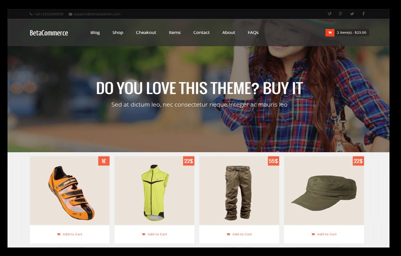 Betacommerce Shopping Online Store Blogger Template Free Download