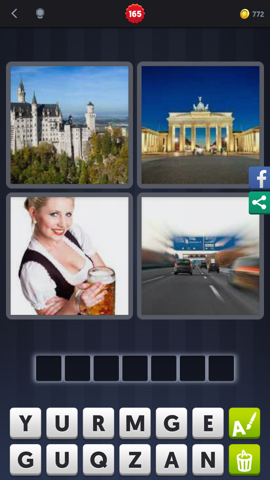 4 Pics 1 Word 7 Letters Castle Beer Poemsview