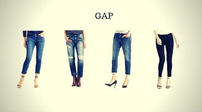Marca de Calça Jeans Feminina GAP