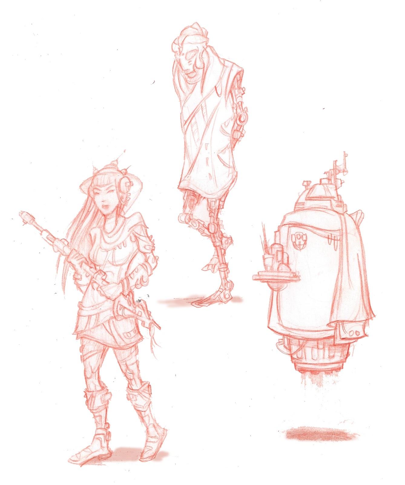 Character Design Sketchbook : Sketchbook character design