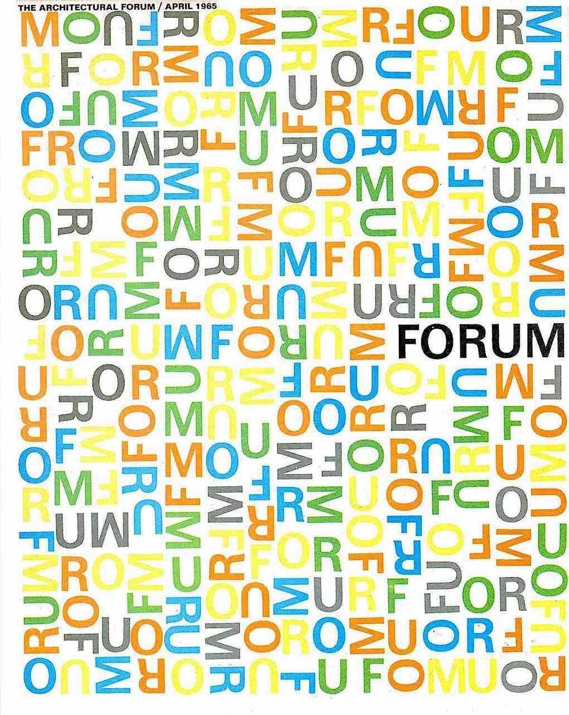 a 1965 Forum magazine cover