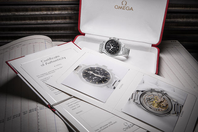 Omega's Certificate of Authenticity for vintage timepieces