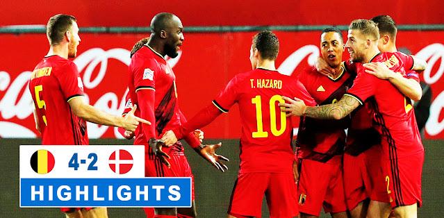 Belgium vs Denmark – Highlights