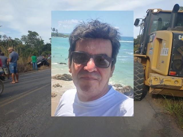Oeste da Bahia: Ex-subsecretário de obras de Barreiras morre em grave acidente