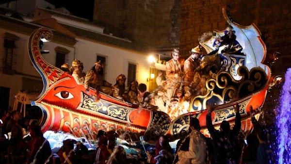 Horario e Itinerario Cabalgata de Reyes Magos 2020 en Carmona (Sevilla)