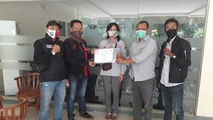 Ikatan Wartawan Online Bogor Melakukan Audience ke Pabrik Semen PT Solusi Bangun Indonesia Tbk