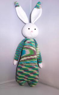 gehaakte knuffel konijn