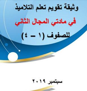 وثيقة تعلم الطلبة في المجال الثاني ( ١-٤ ) للعام الدراسي ٢٠٢٠/٢٠١٩م لمدارس سلطنة عمان