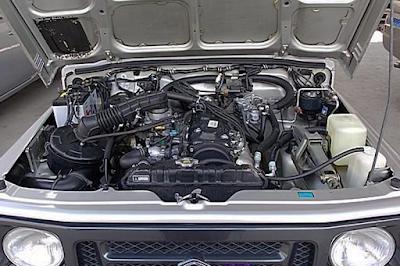 Mesin Suzuki Jimny Caribian