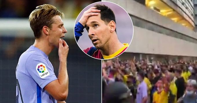 'Where's Leo Messi?': Cadiz fans mock Barca on arrival to stadium