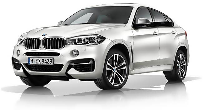 2017 BMW X6 M50d Review