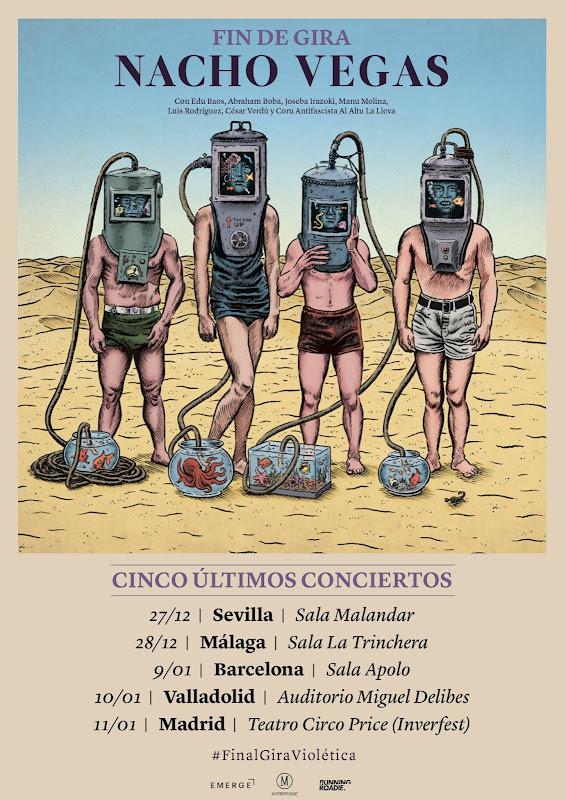 Agenda de giras, conciertos y festivales - Página 15 Nachovegas