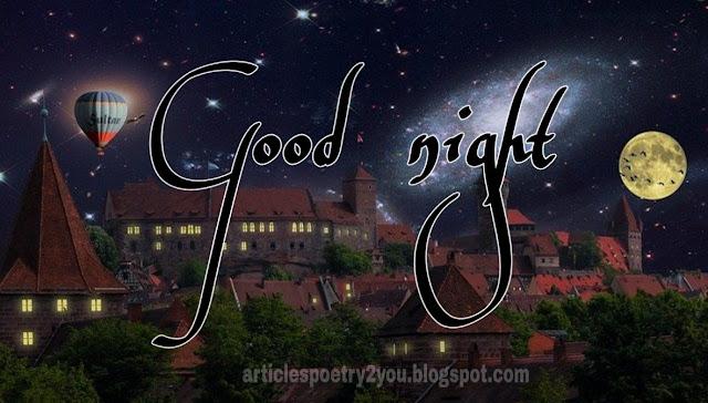 Romentic good night images