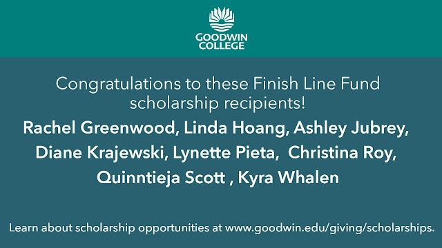 Congratulations to Finish Line Fund Scholarship Recipients