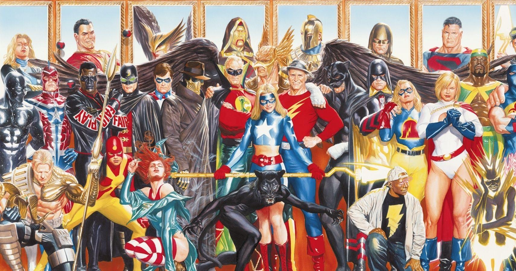 MEMÓRIA EM QUADRINHOS | Especial de natal  da Sociedade da Justiça : Uma família de heróis