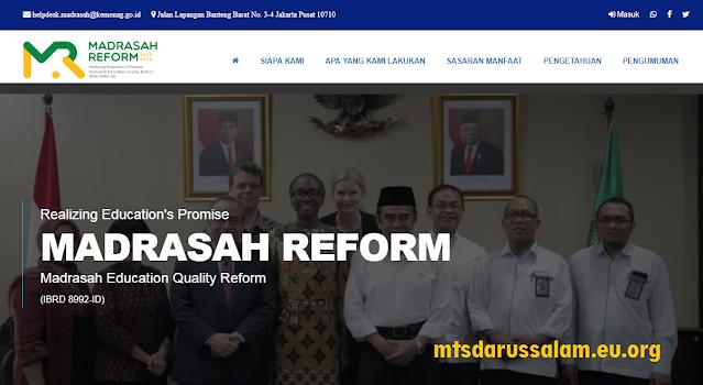 Madrasah Sasaran Penerapan e-RKAM Tahap I Tahun 2020