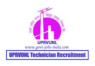 UPRVUNL Technician Recruitment 2020