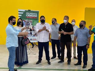 Renato Meireles cumpre agenda com a Secretário de Desenvolvimento Humano, Tibério Limeira