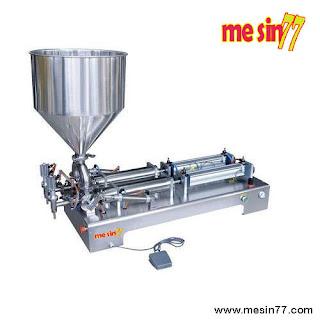 GCG-A/2 Semi Automatic Double Nozzle Liquid/Oil/Cream/Paste Filling Machine